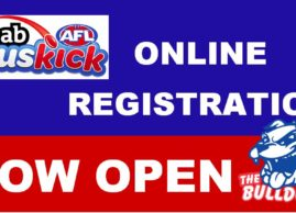 Auskick Registrations Now Open