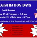 2018 Registration Days